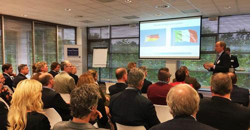 Seminars en voorlichtingsbijeenkomsten voor handelsagenten en importeurs